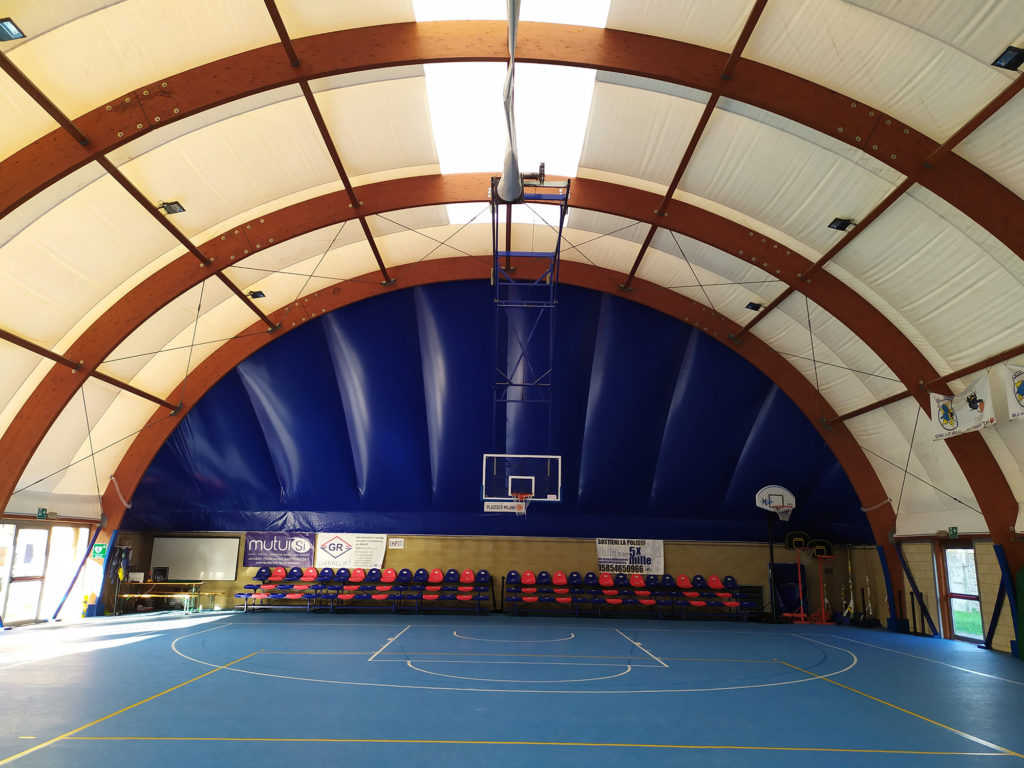 Basketball Architecture Ceiling