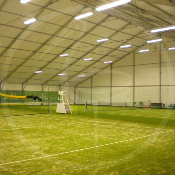 Copertura campi da tennis