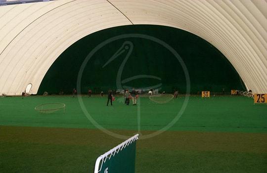 Двойное мембранное покрытие для тренировочного поля для гольфа 100х50 метров