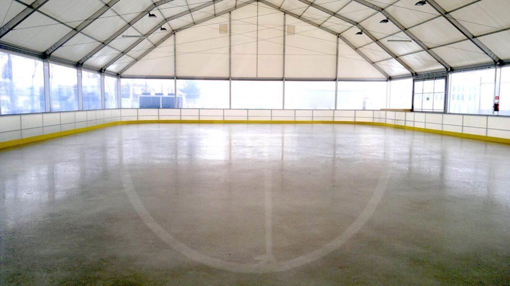Copertura pista ghiaccio