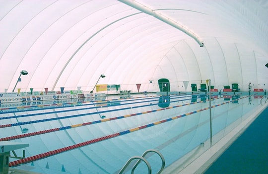 Copertura pressostatica piscina olimpica
