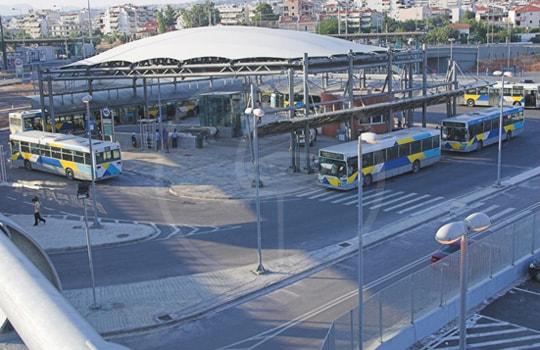 Copertura terminal Autobus