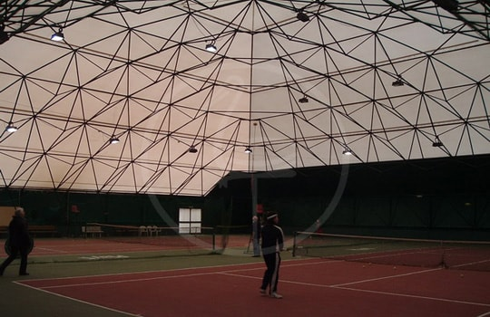 Membrane for geodesic structure - Cesena ( Italy )