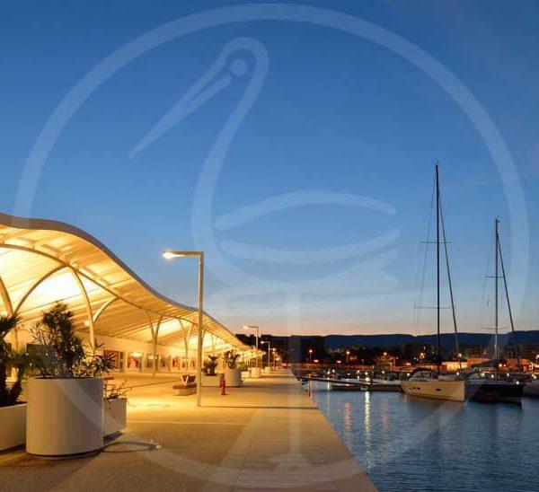 copertura Porto commerciale di Manfredonia (FG)
