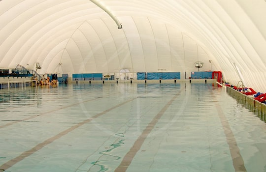 Pressostruttura piscina olimpionica