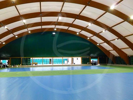 Tendostruttura 2 campi da tennis