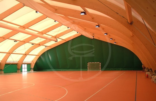 Multi-purpose sport area tensile structure - Padova ( italy )