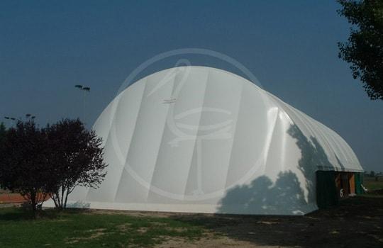 Structure tendue en bois double membrane - Misano Adriatico ( Italy )