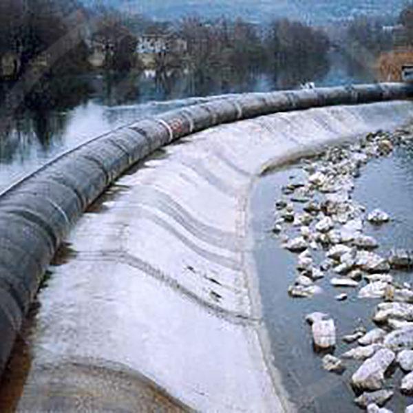 Hochwasserschutzdamm – Durchmesser 1 m
