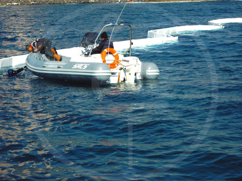 Barriere antiinquinamento per acque interne