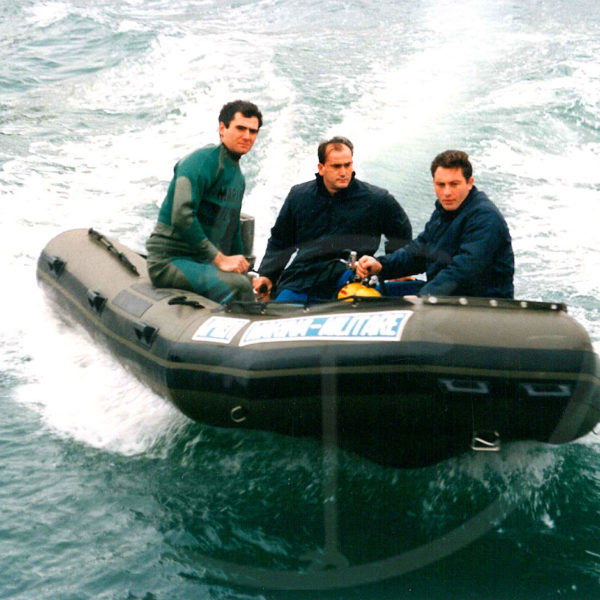 4.50 mt. foldable inflatable boat, Navy