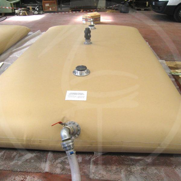 5000 lt flexible tank for foodstuffs