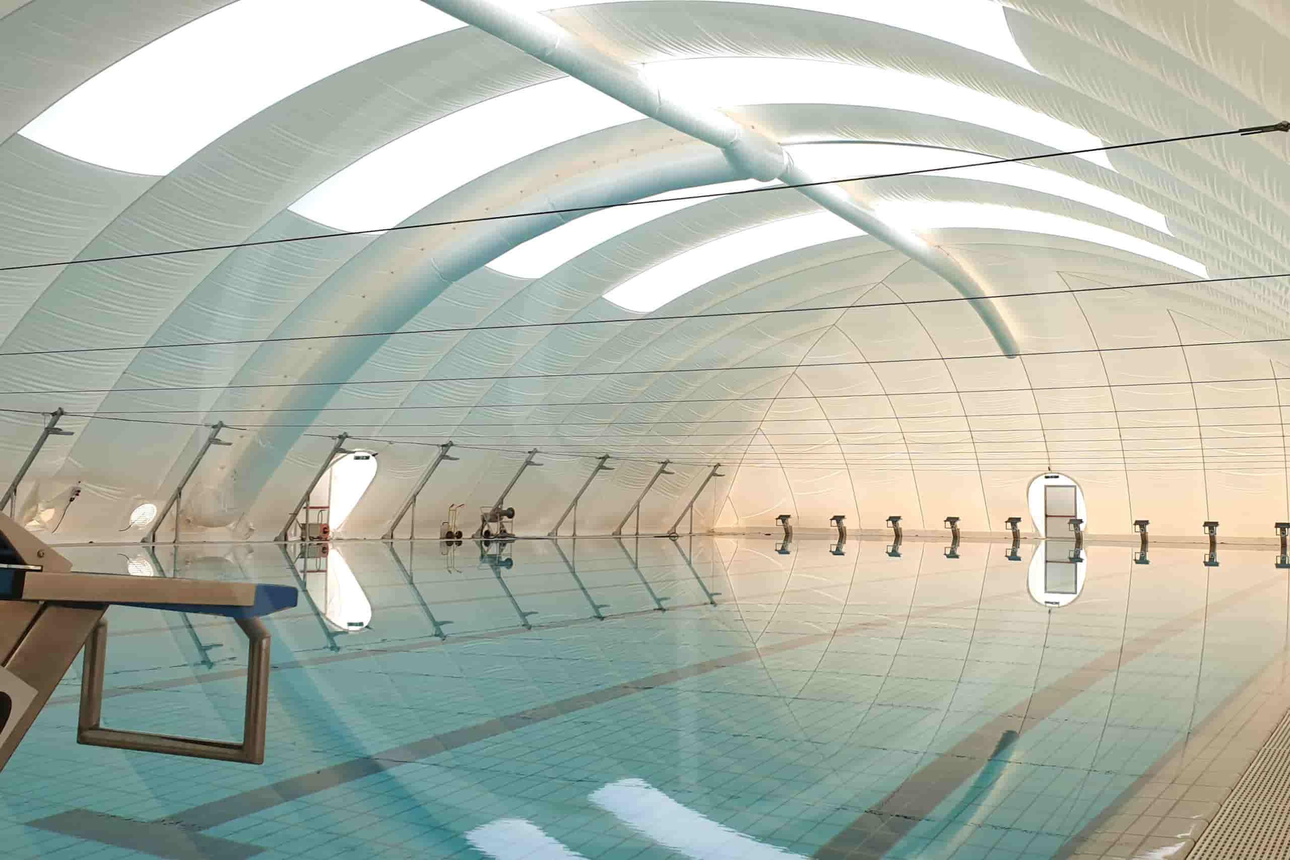 copertura piscine con fascia
