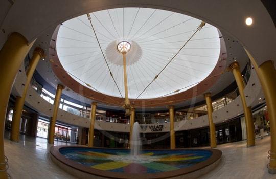Coperture per gazebi Centro Commerciale