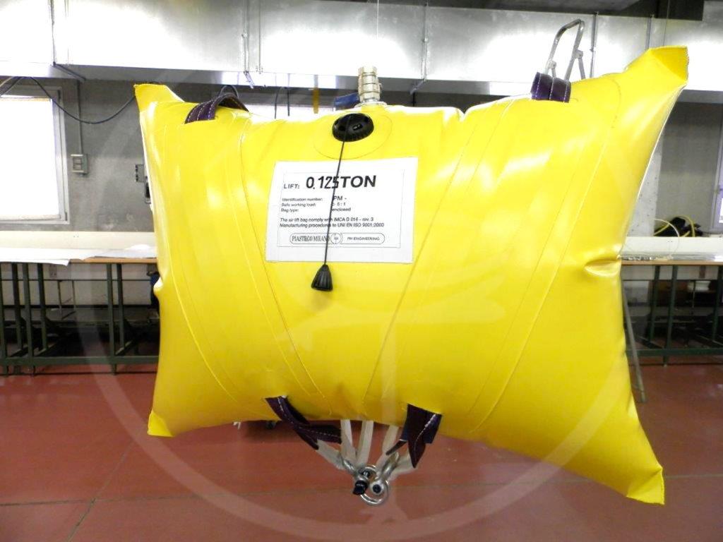 coussin de levage de 0,125 tonnes