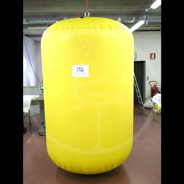 dispositifs étanches pour positionnement pipe-line de 3 tonnes