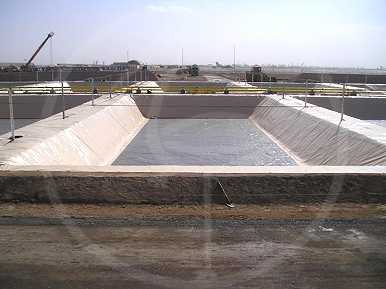Geomembran für Auffangbecken, 45 x 35 m