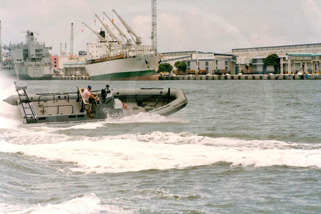 Halbstarres Boot, 10 m – Flottenstützpunkt in Norfolk