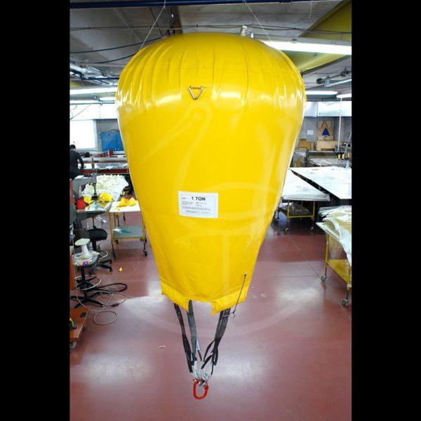 pallone di sollevamento a paracadute da 1 ton