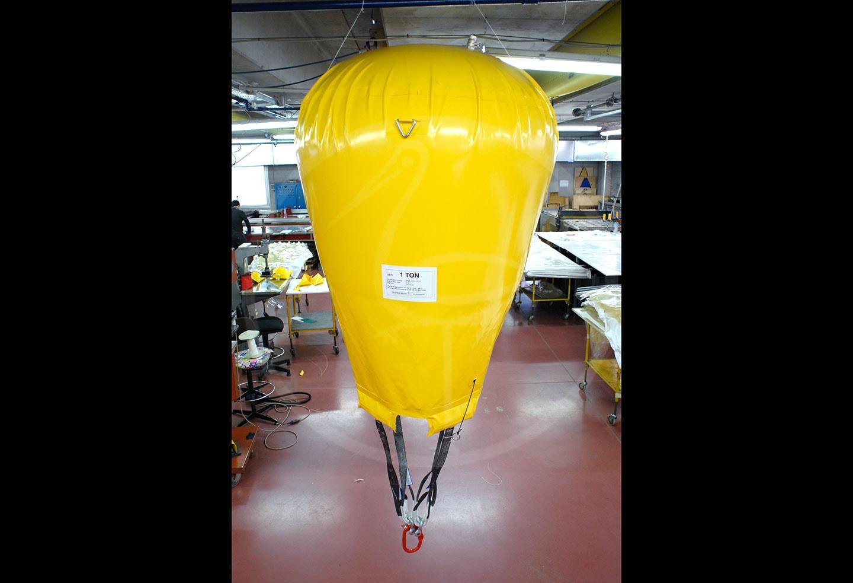 ballon parachute de levage de 1 tonne