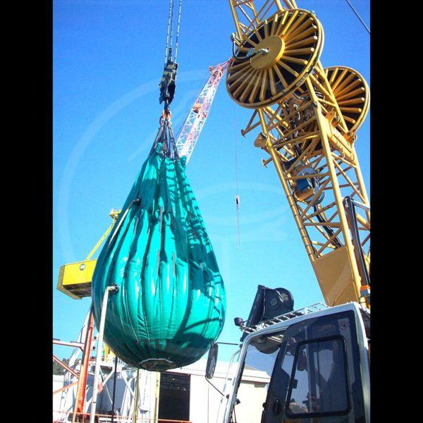 pallone per test idraulici da 15 ton