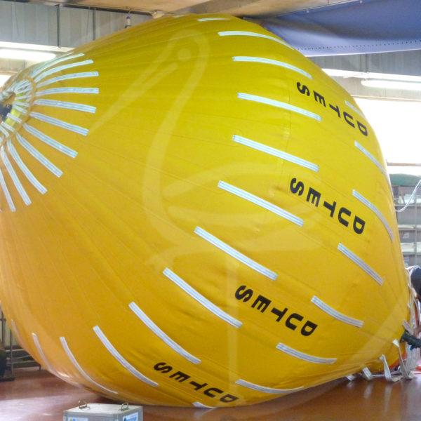 pallone per test idraulici da 30 ton