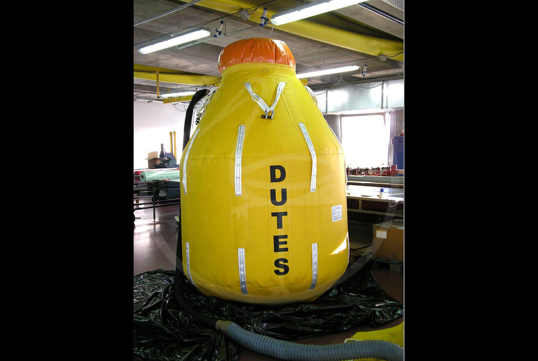 pallone carico per test idraulici