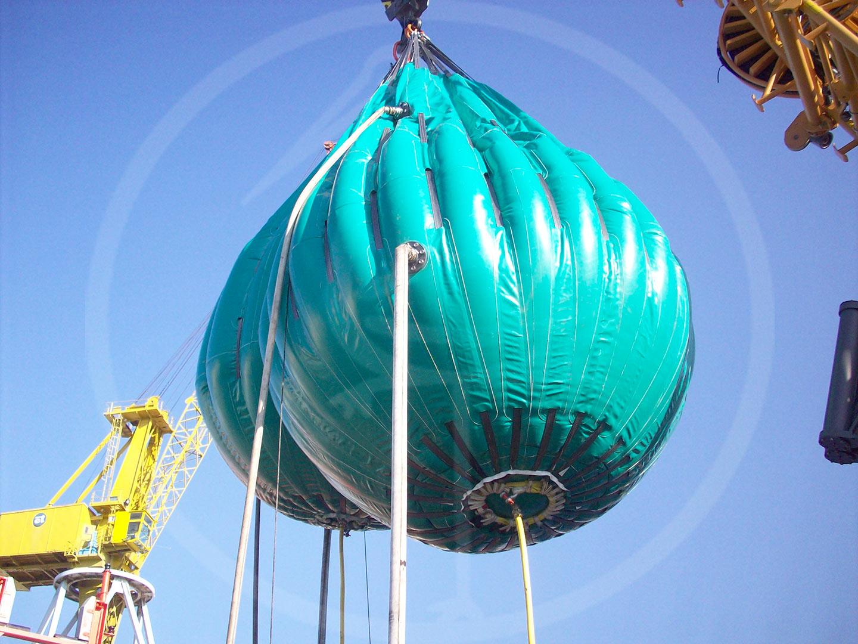 ballons pour tests hydrauliques de 25 tonnes