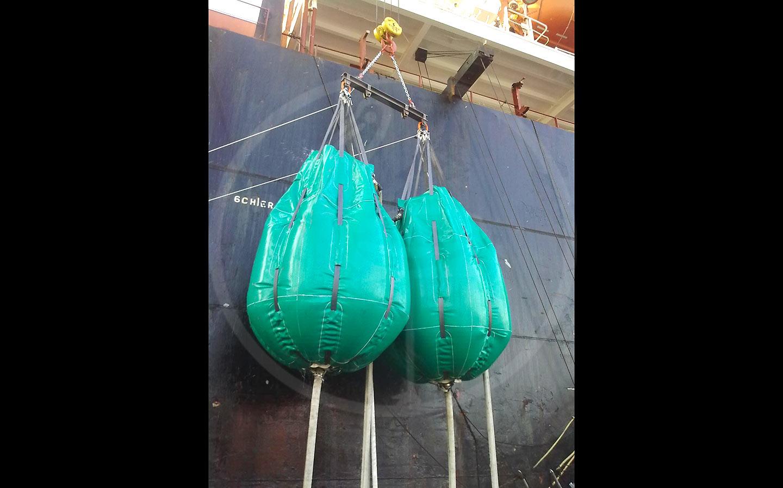 ballons pour tests hydrauliques de 7,5 tonnes