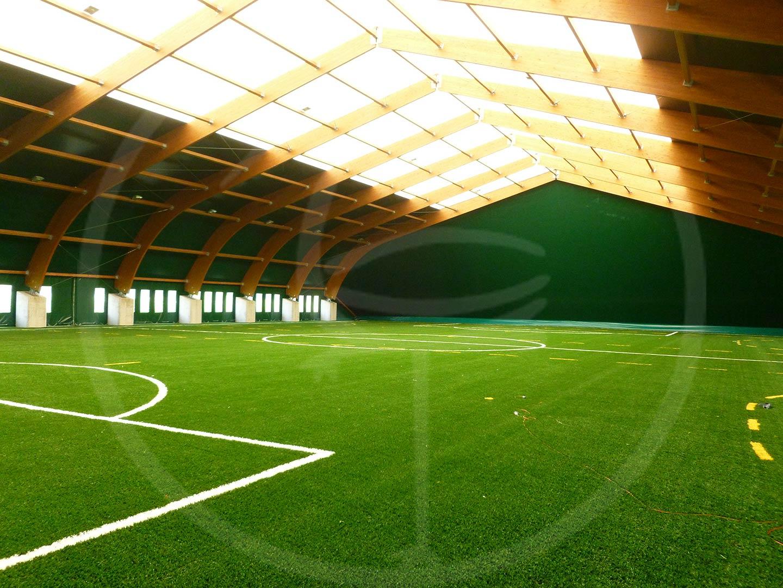 Struttura legno 4 campi calcio a 7
