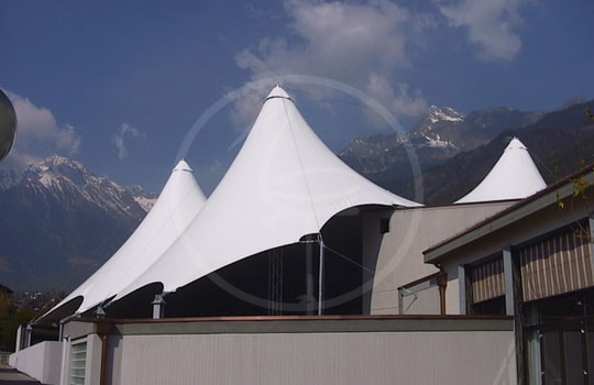 Tent theater dim. 40 x 40