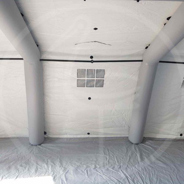 Innenansicht – Selbsttragendes aufblasbares Zelt