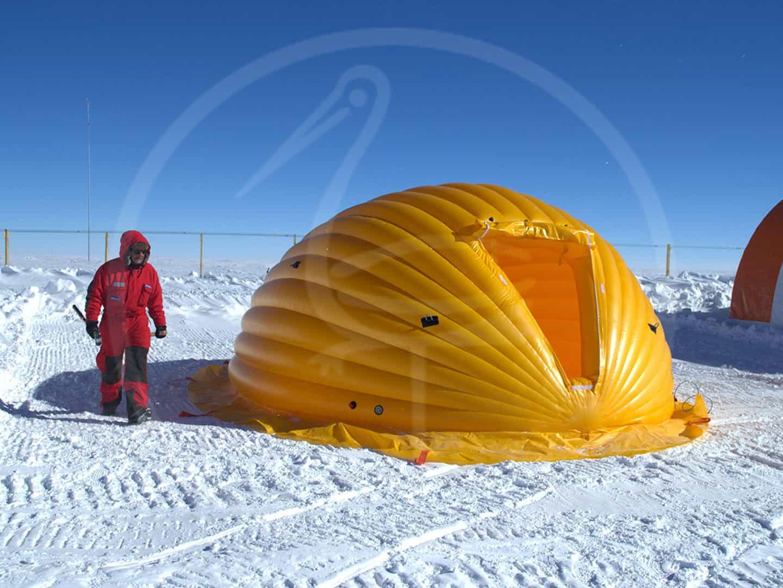 tente gonflable autoportée XXIX expédition italienne en Antarctide (2013) www.italiantartide.it