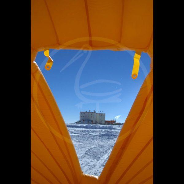tenda pneumatica autoportante stazione italo-francese Concordia Antartide