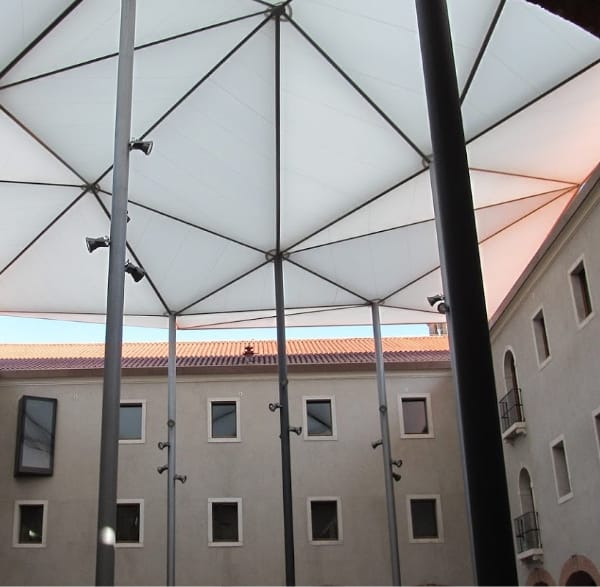 tensile structures for school