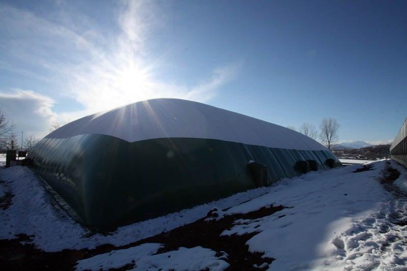copertura pressostatica invernale