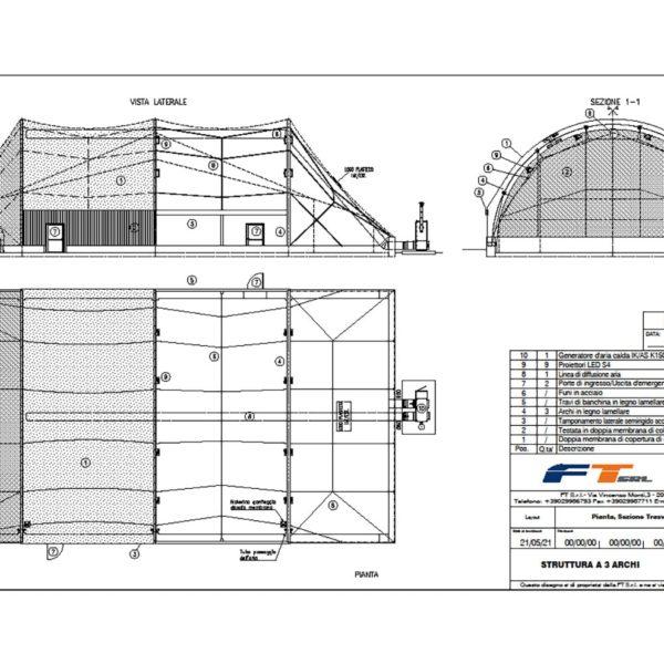 Nuovo Progetto Plasteco Milano 3 archi